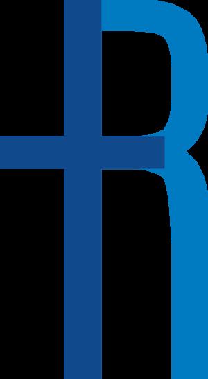 Logo R DEF blauw